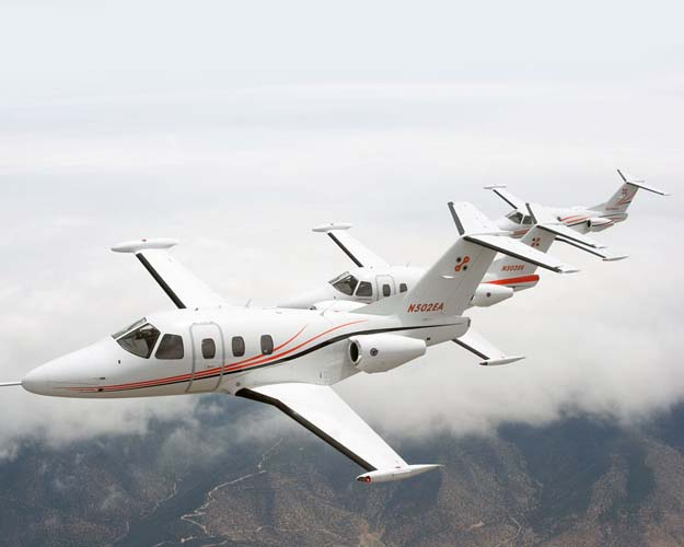 4 passenger private jet